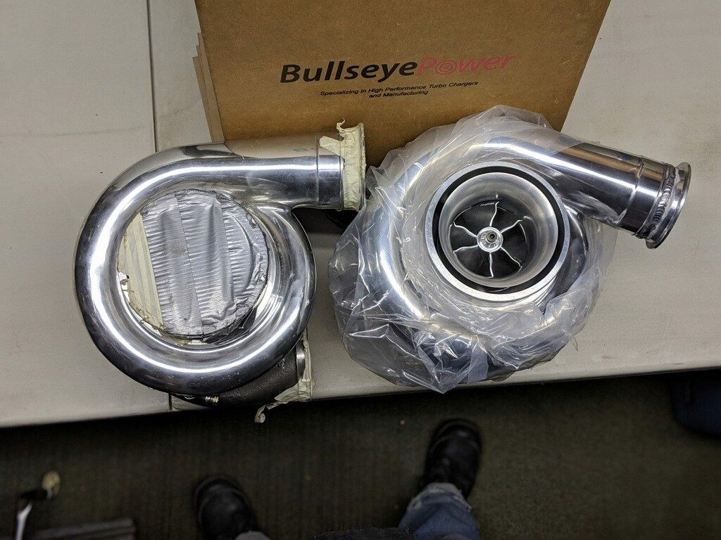 88mm Bullseye Power Turbos | Resolution Racing Services